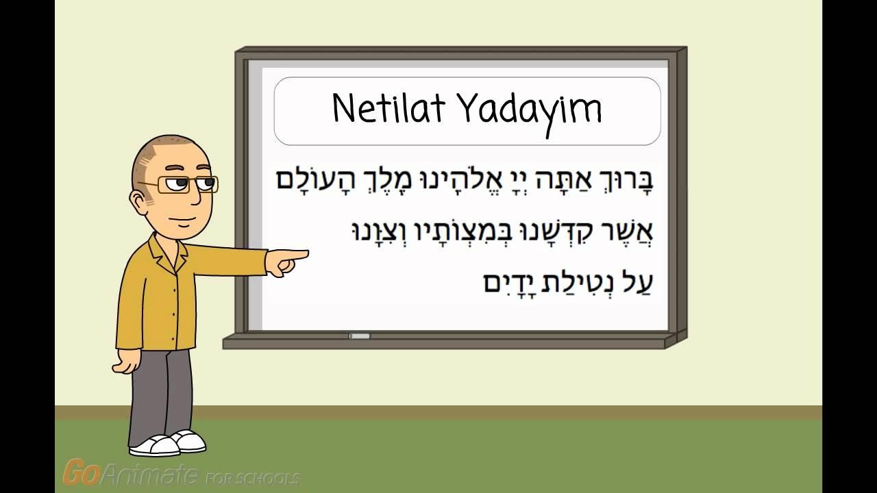 Let's Learn T'fillah: Netilat Yadayim