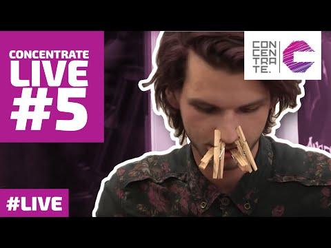 CONCENTRATE LIVE #5: ZU5E en Ruben Annink
