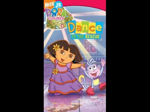 Opening To Dora The Explorer Dance To The Rescue 2005 Vhs Youtube