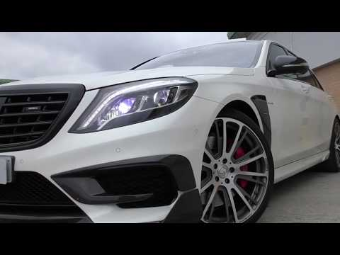2016 MERCEDES S63 L AMG BRABUS EDITION 700 BHP - S63L AMG ONLY 1 IN THE UK