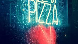 Неоновая вывеска Pizza