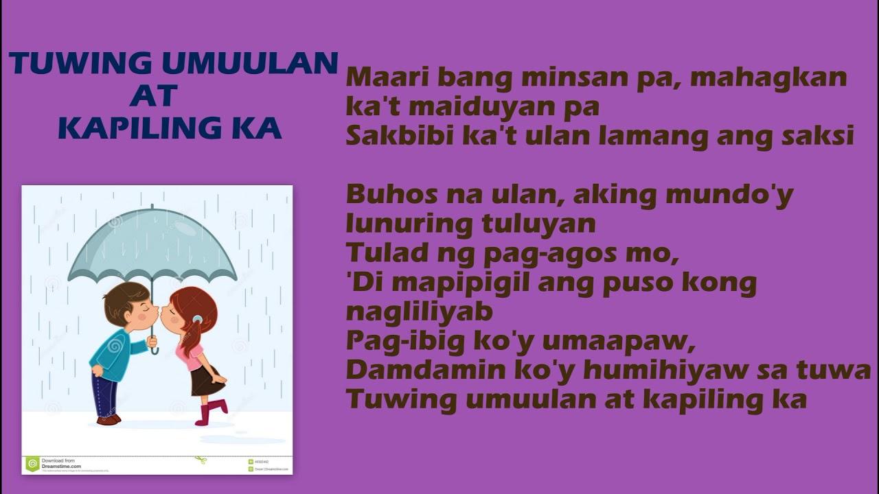buhos ng ulan by regine velasquez