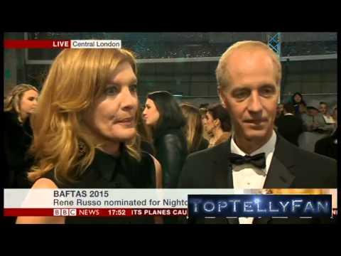 Rene Russo and Dan Gilroy (Nightcrawler) - BAFTA Interviews (BBC News, 8.2.15)
