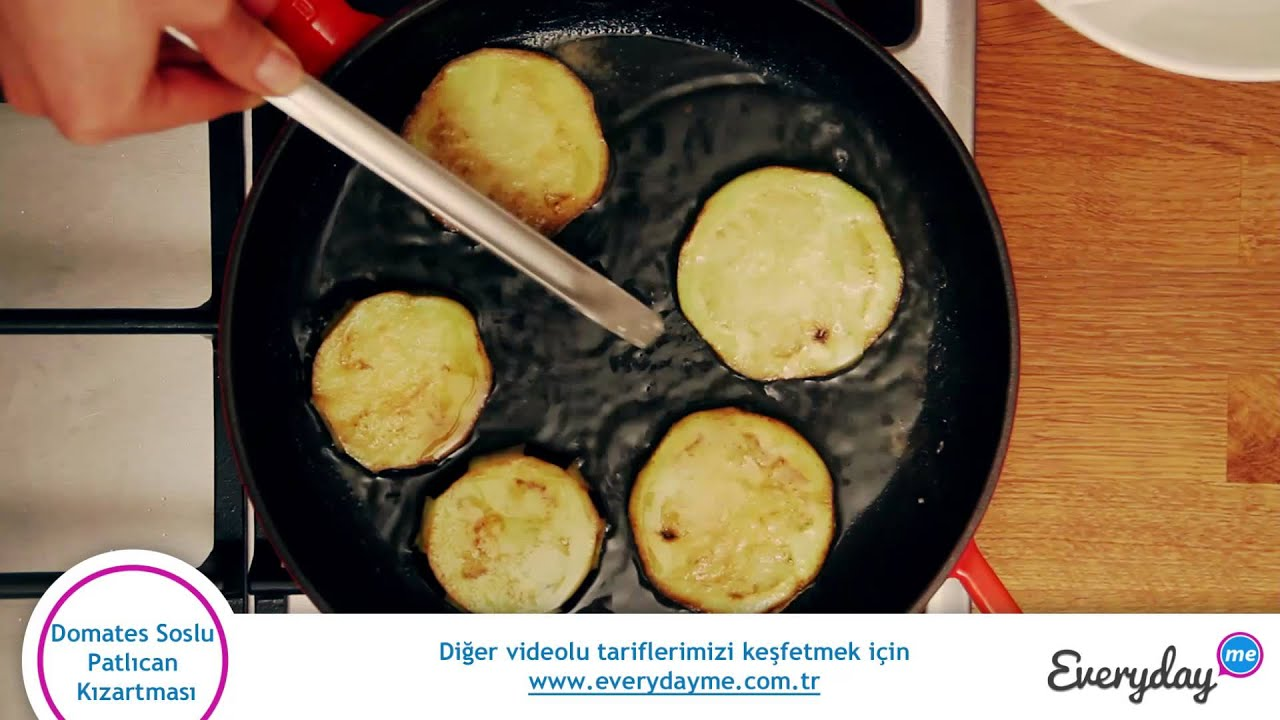Soslu Patlıcan Kızartma Videosu