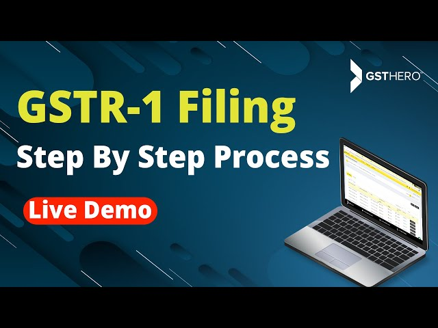 How To File GSTR 1 Quarterly and Monthly Step by Step - GSTR 1 Live Filing (2018)