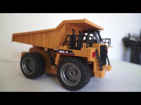 Super DieCast 6 Channel RC Dumper Truck