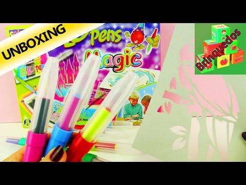 Caneta mágica em Spray – Desenhos em estilo de Graffiti – Unboxing