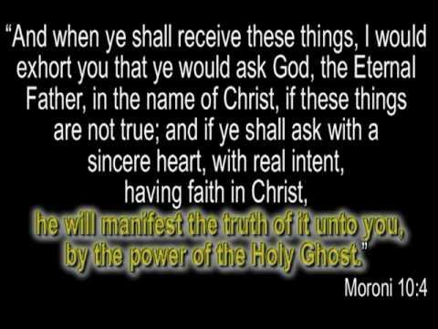 Moroni - an Angel of Light