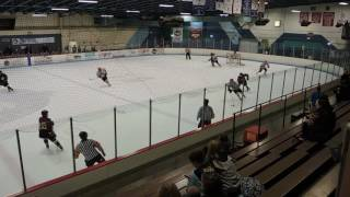 Bradley University vs  RMU peoria ACHA hockey 11 02 2016