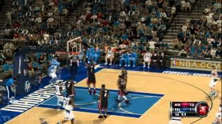 NBA 2K12 Gameplay Viciado Gamers - Miami Heat vs Dallas Mavericks (Part 01)