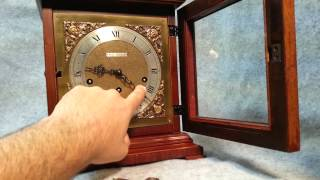 Seth Thomas Westminster Chime Legacy 8-day Bracket Mantel Clock