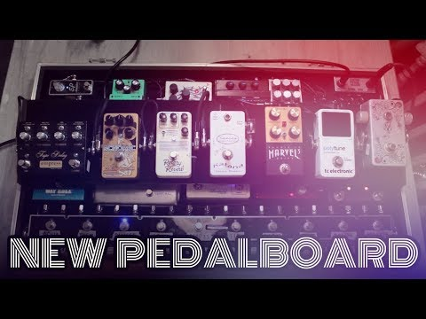 Friday Fretworks  - Chris Buck Pedalboard Rundown