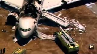 Full Version Plane Crash at San Francisco Airport, Boeing 777    06 07 2013