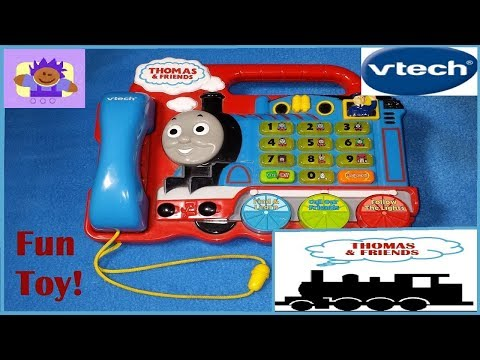 Vtech Thomas and Friends Light up talking telephone learning toy #7140