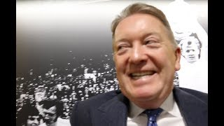 FRANK WARREN ON SIGNING OHARA DAVIES, SELBY v WARRINGTON, KHAN WATERGATE, RING-GIRL BAN, TYSON FURY
