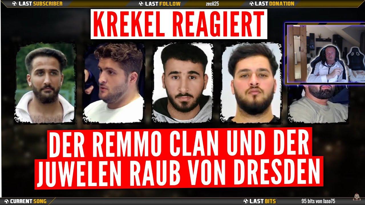 Download Krekel Reagiert - Der Remmo Clan und der Juwelen Raub von Dresden