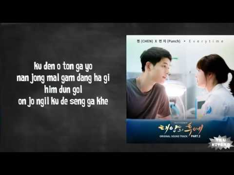 Everytime (lirik) OST Descendants Of The Sun