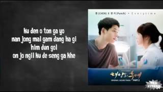 Everytime (lirik) OST Descendants Of The Sun