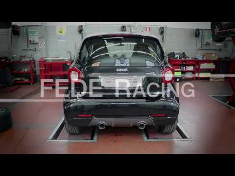 Sport Exhaust for Smart 453 Brabus & Fortwo - Fede Racing