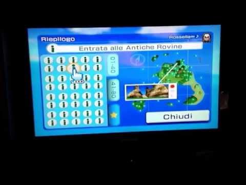 "Wii Sports Resort: Tutti i punti ""i"" (ⓘ) di ""Sport in Quota"" (Ricognizione)"
