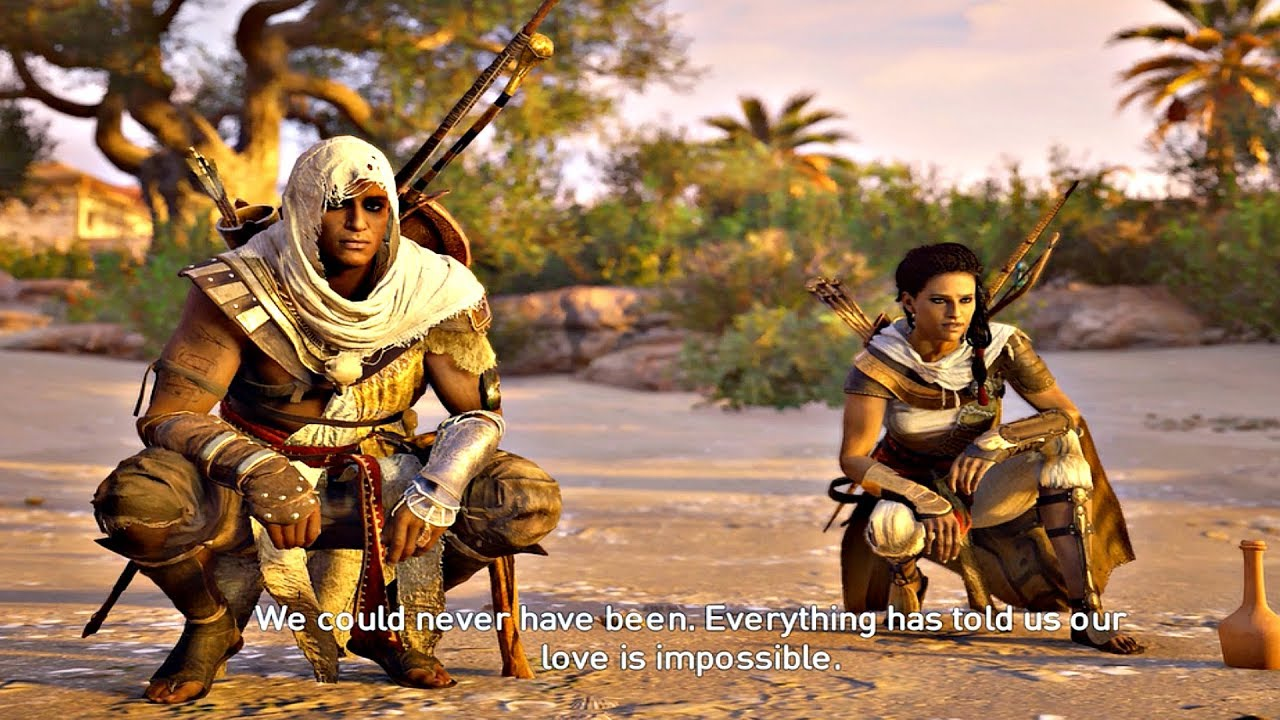 Assassin S Creed Origins Is A Sad Game About Marriage