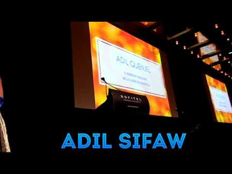 Adil Sifaw in sydney Hotel sofitel.Song about Love