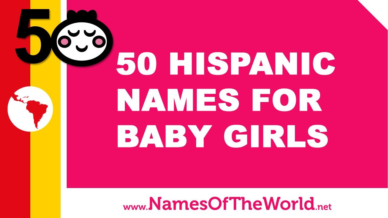 Popular latin baby girl names