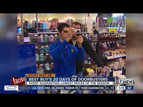 Best Buy offering 20 day of doorbusters in December