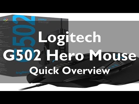 Logitech G502 Hero Unboxing and Quick Review | Best Mouse for Gamers?