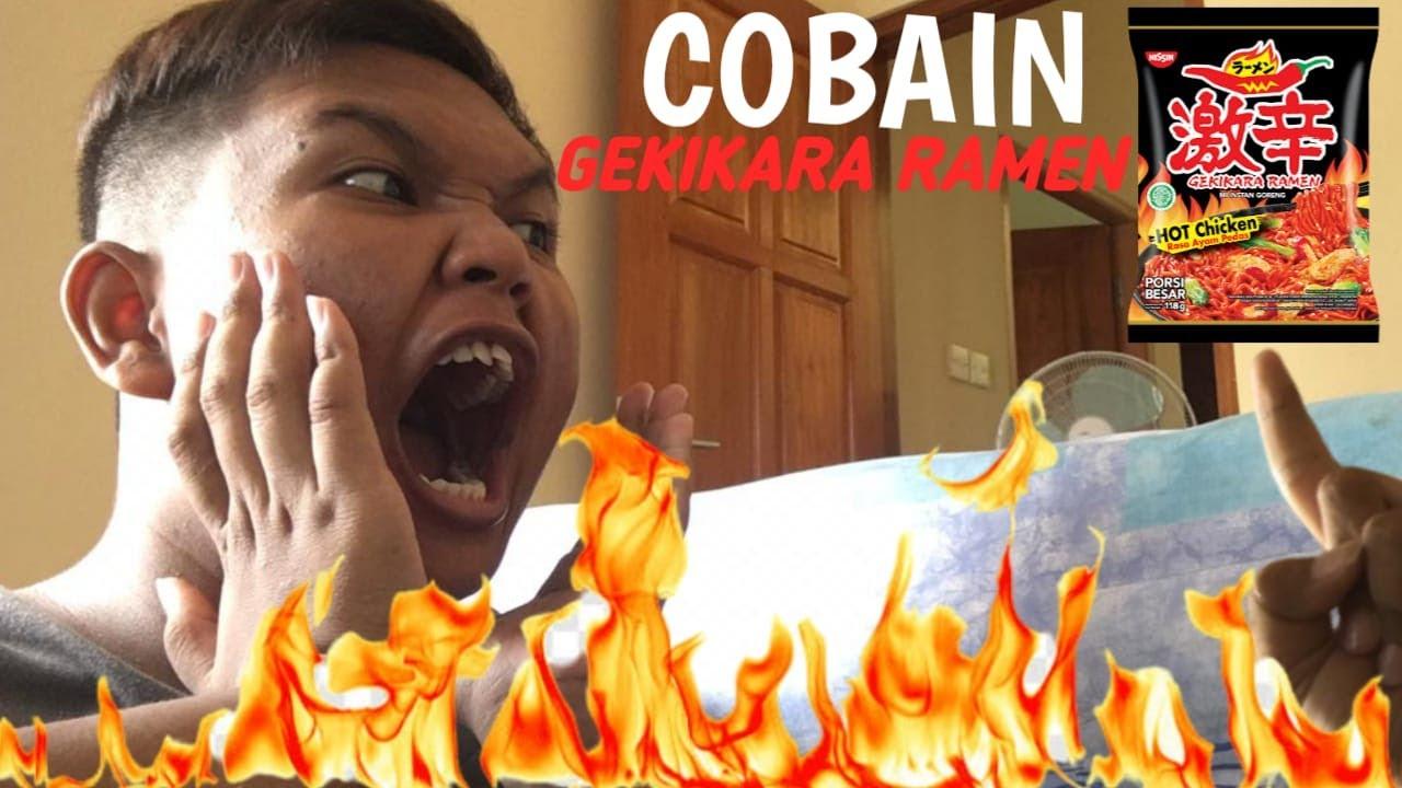 COBAIN GEKIKARA RAMEN SUPER PEDAS!!!