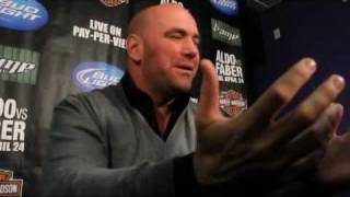 Dana White on Strikeforce Brawl: 'Fight Breaks Out Next to Diaz Bros, What Do You Think Happens?'