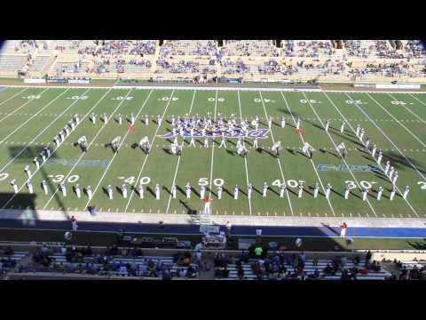 "University of Tulsa ""Sound of the Golden Hurricane"" Halftime, Oct. 5, 2013"