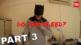 DIY Batman Cowl Part 3 - Fake Leather Using White Glue // Cosplay How to #114