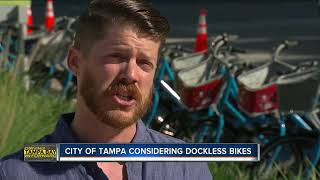 Dockless bike and scooter companies interested in coming to Tampa, city proceeding cautiously