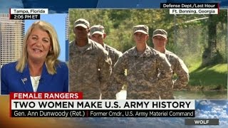 Two Women Make U.S. Army History