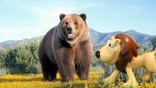 ДОБРЫЙ МЕДВЕДЬ Мультфильмы про животных для детей на русском языке