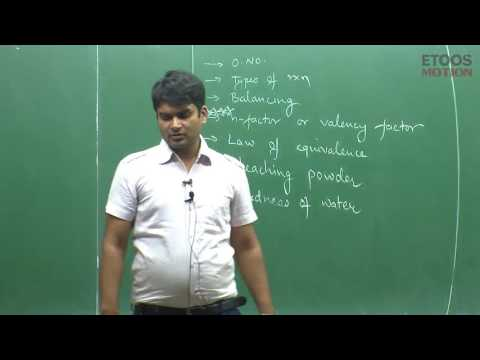 Redox Chemistry Video Lecture by SG Sir: Reaction, Oxidation