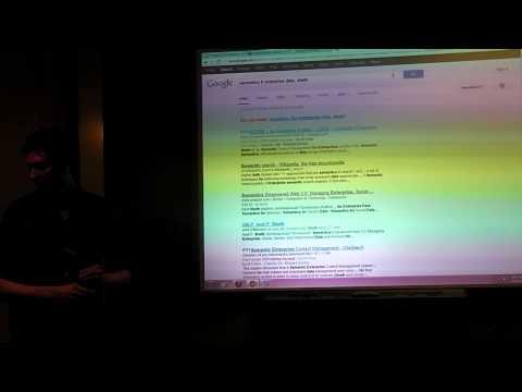 Web 3.0 Class 6: Semantics for Enterprise Data