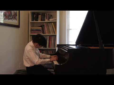 Beethoven Moonlight Sonata & Chopin Polonaise in A flat major by Andrew Li (14)