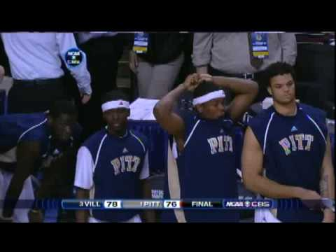 Nova Defeats Pitt in the Elite Eight in the 2009 NCAA Tournament