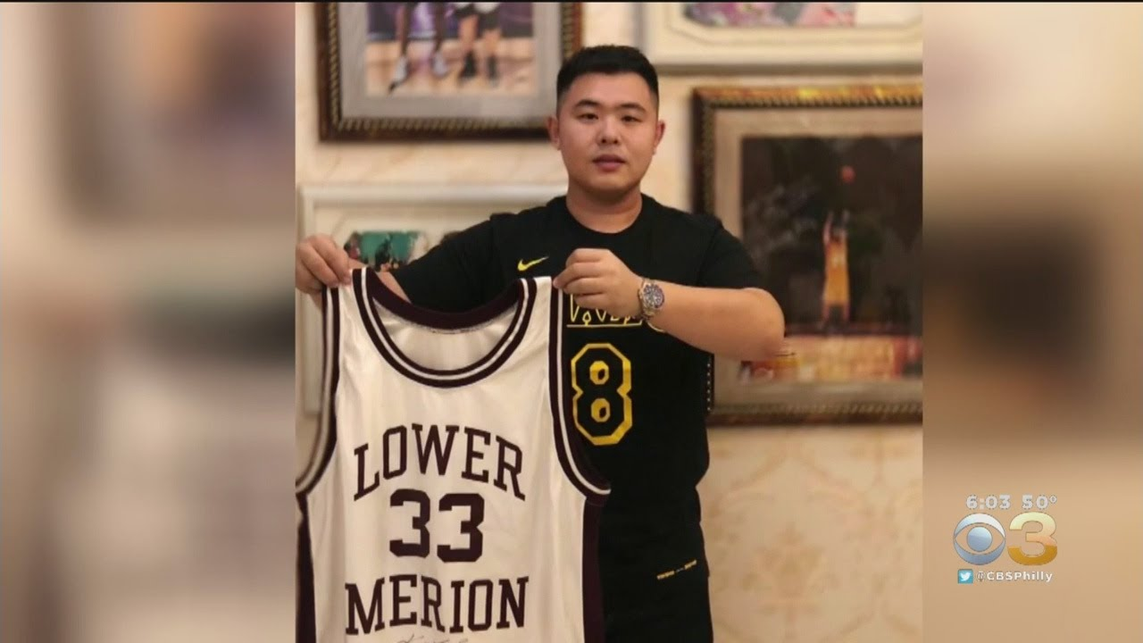 b3f2bc5e377 2 Years Later, Stolen Kobe Bryant Jersey Returned To Lower Merion ...