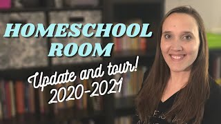 **UPDATED** Homeschool Room Revamp and Tour || Large Family Homeschool Room Tour 2020-2021