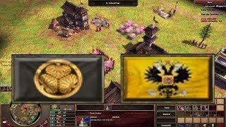 Beat Expert AI Japan Vs Russia! AOE 3