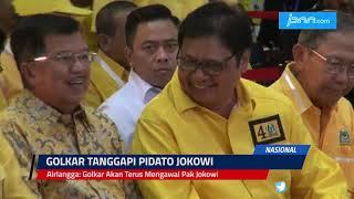 Airlangga: Golkar Akan Terus Mengawal Pak Jokowi