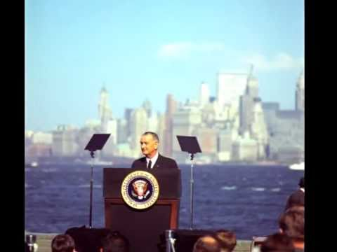 Remarks at the Signing of the Immigration Bill, Liberty Island, New York  October 3, 1965