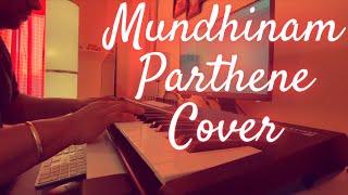 Mundhinam Parthene Piano Cover | Vaaranam Aayiram | Harris Jayaraj | Suriya | Adithyha Jayakumar
