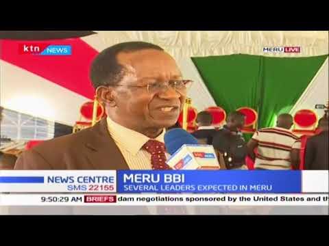 MERU BBI : Several leaders expected in Meru, meeting to take place tomorrow