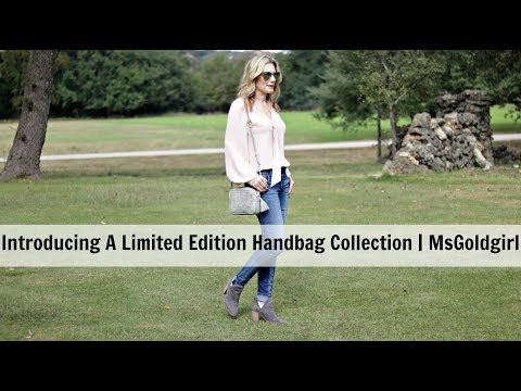 Introducing A Limited Edition GiGI NY Collection + WIMB | MsGoldgirl