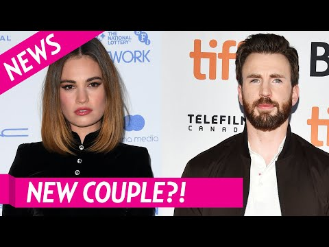 Chris Evans and Lily James Spark Dating Rumors