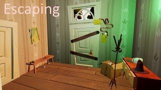 Escaping...  Hello Neighbor Mod Gameplay